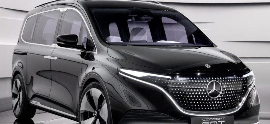 фото Mercedes EQT 2022 года