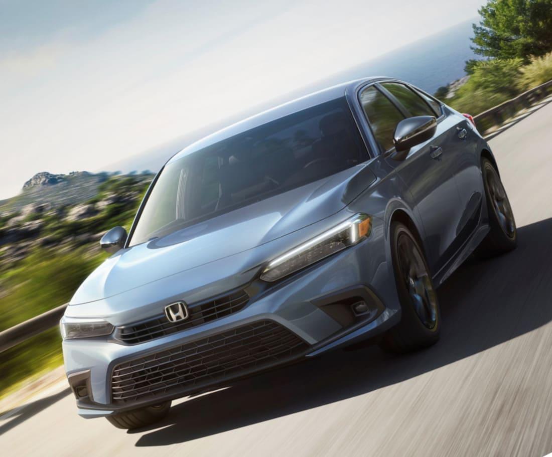 Honda Civic 11 2022 фото