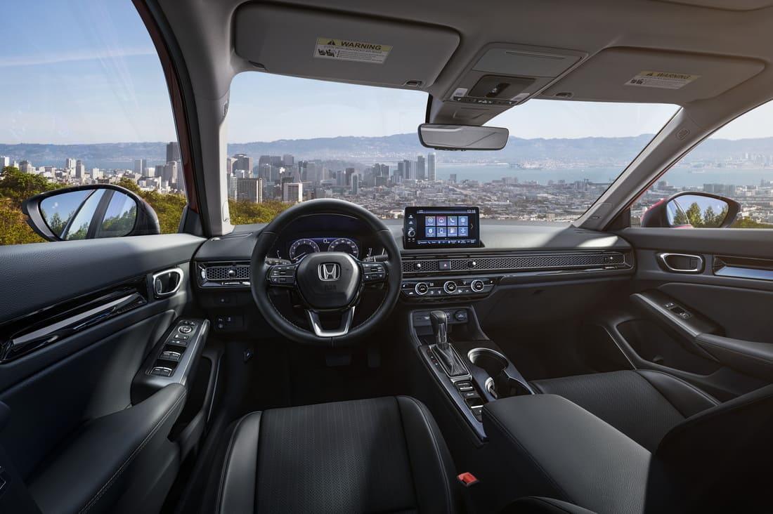 Honda Civic 11 2022 салон