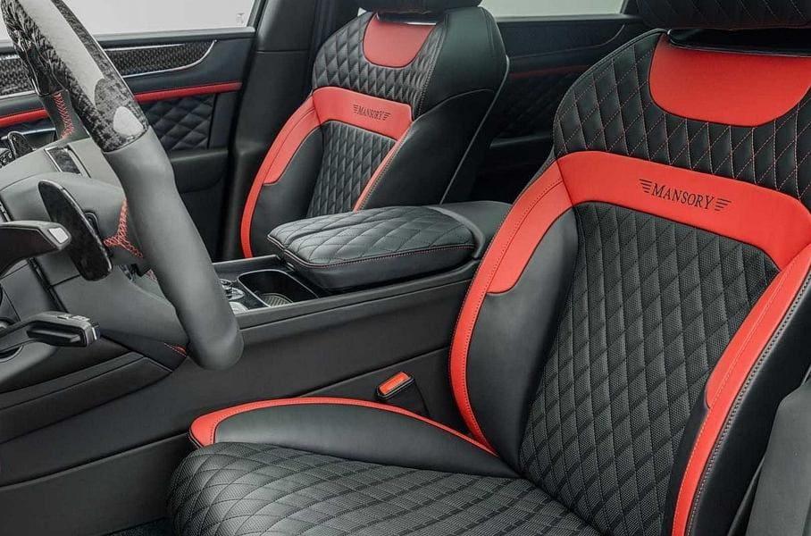 интерьер Bentley Bentayga 2021 от Mansory