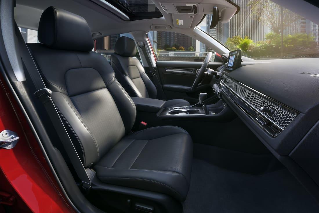 интерьер Honda Civic 11 2022 года