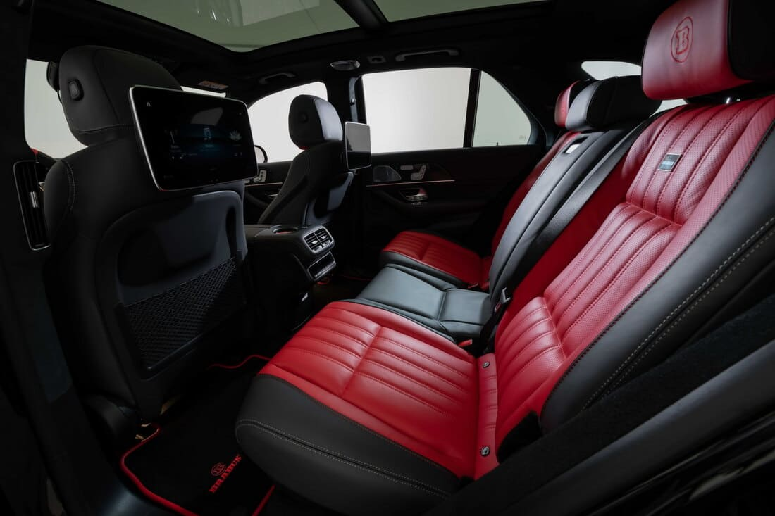 интерьер Mercedes-AMG GLE 63 S 2021 от Brabus