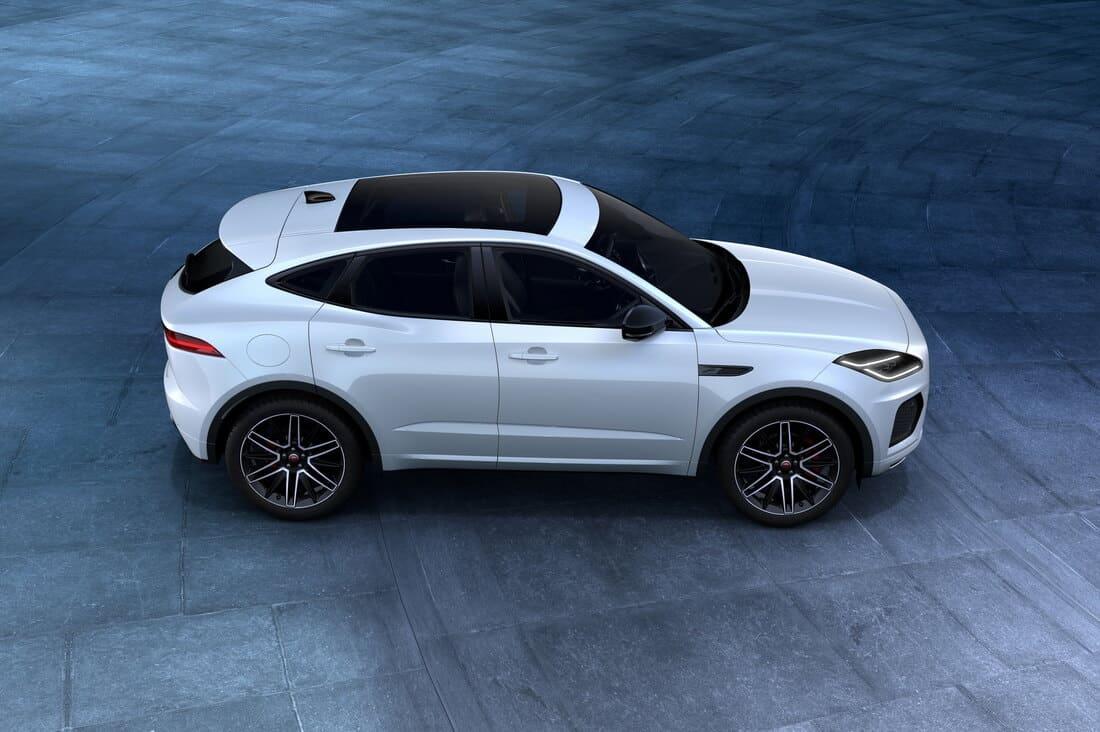 Jaguar E-Pace R-Dynamic Black 2021 сбоку