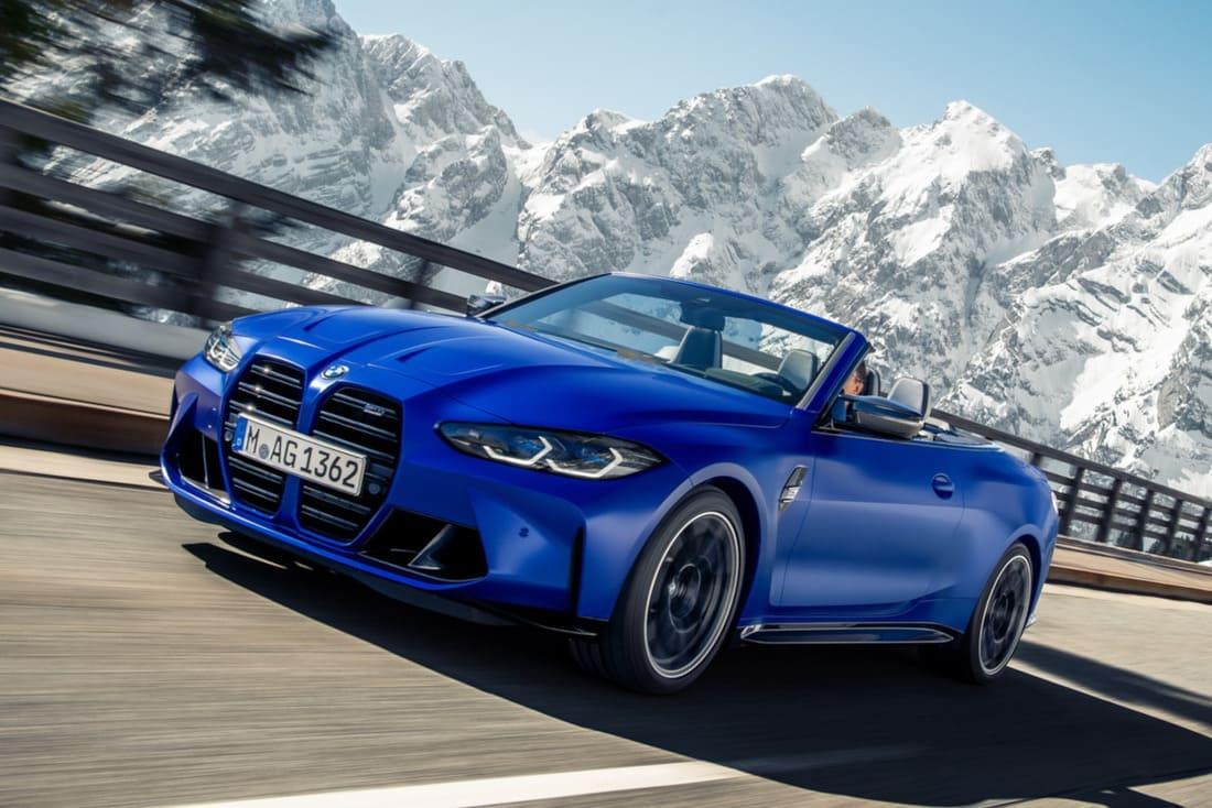 кабриолет BMW M4 2022 фото
