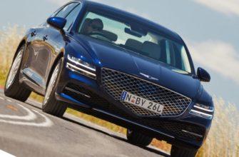 Краш-тест Genesis G80 2021 от Euro NCAP (видео)