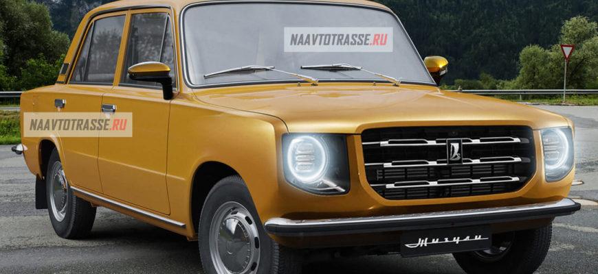 Новая ВАЗ-2101 «Жигули» 2022