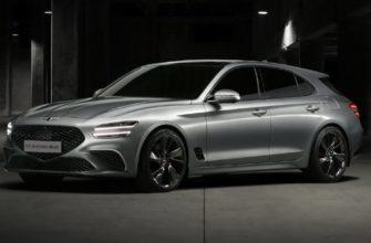 новый Genesis G70 Shooting Brake 2022 фото