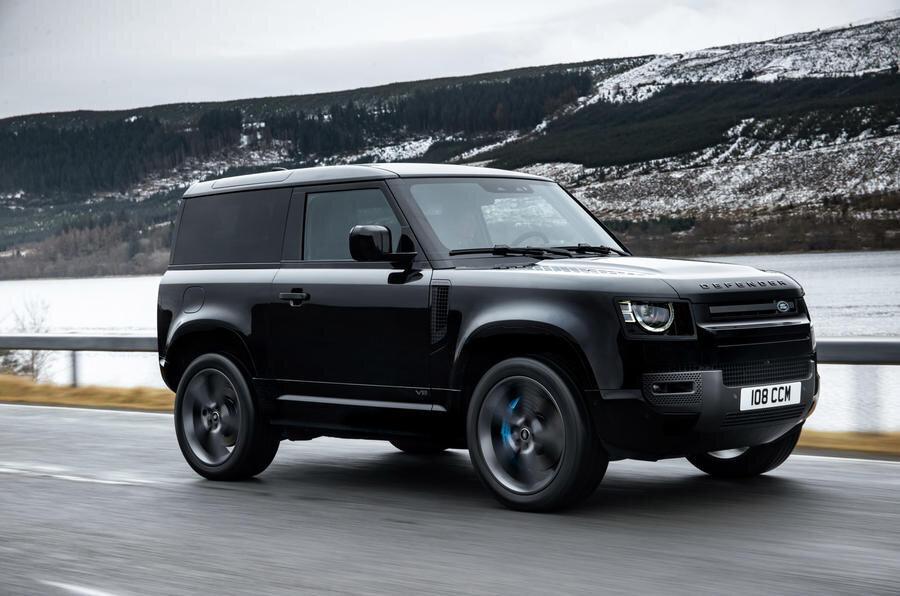 Новый Land Rover Defender 90 2022 в России