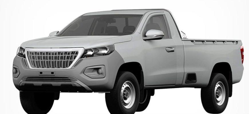 Новый пикап Peugeot Landtrek 2022 в России - копия
