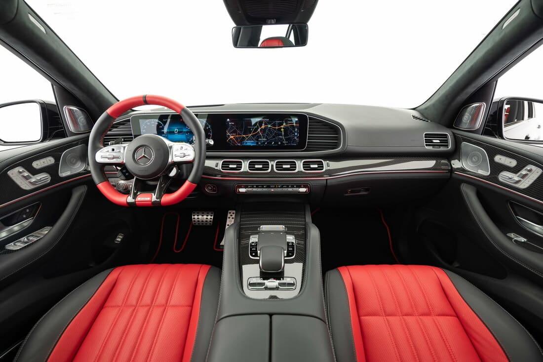 салон Mercedes-AMG GLE 63 S 2021 от Brabus