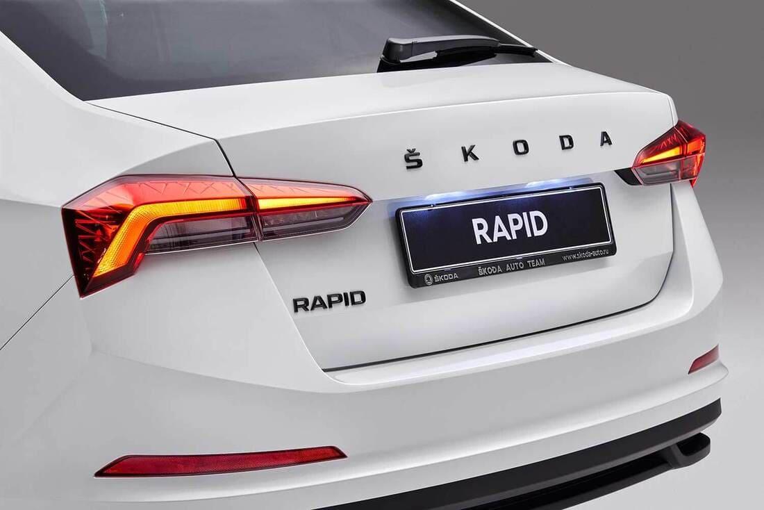 багажник Skoda Rapid Sport Edition 2021