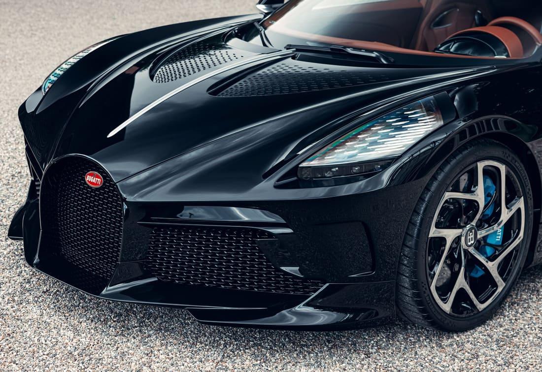 бампер Bugatti La Voiture Noire
