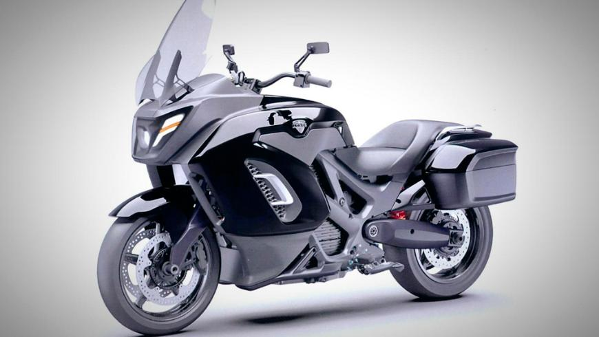 Электромотоцикл Aurus Merlon фото