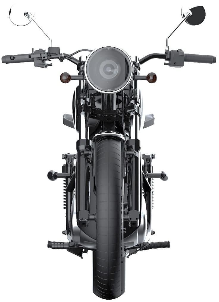 Электромотоцикл Иж-49 фото спереди