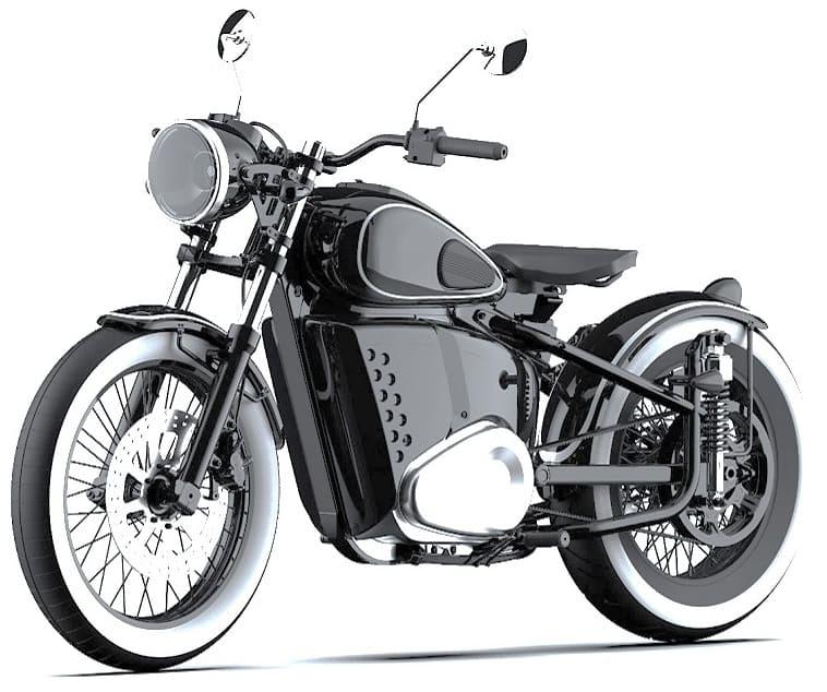Электромотоцикл Иж-49 фото