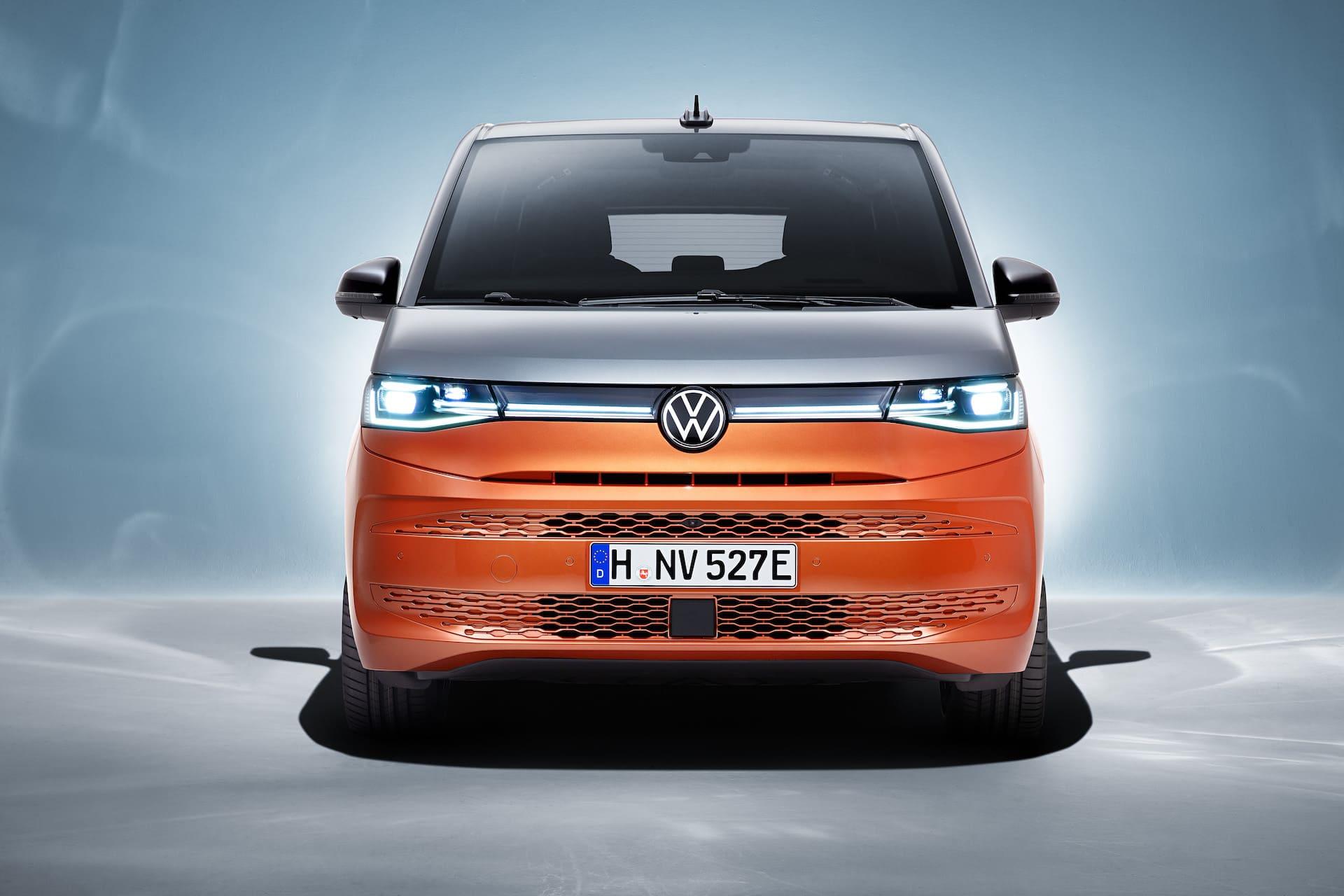 фары Volkswagen Multivan T7 2022 фото