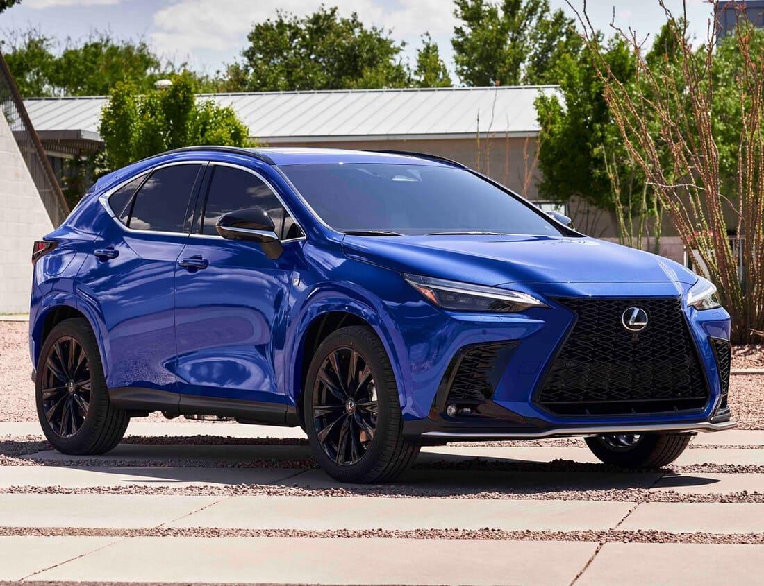 фото Lexus NX 2022 года