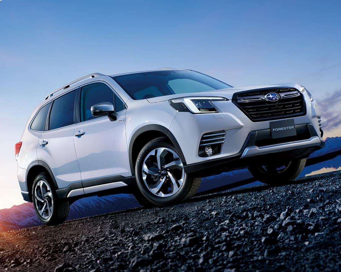 фото Subaru Forester 2022 года