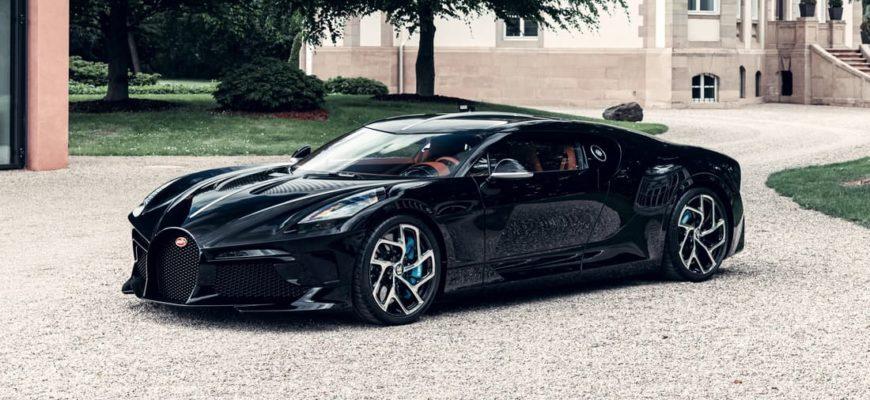 Гиперкар Bugatti La Voiture Noire («Черная машина») фото