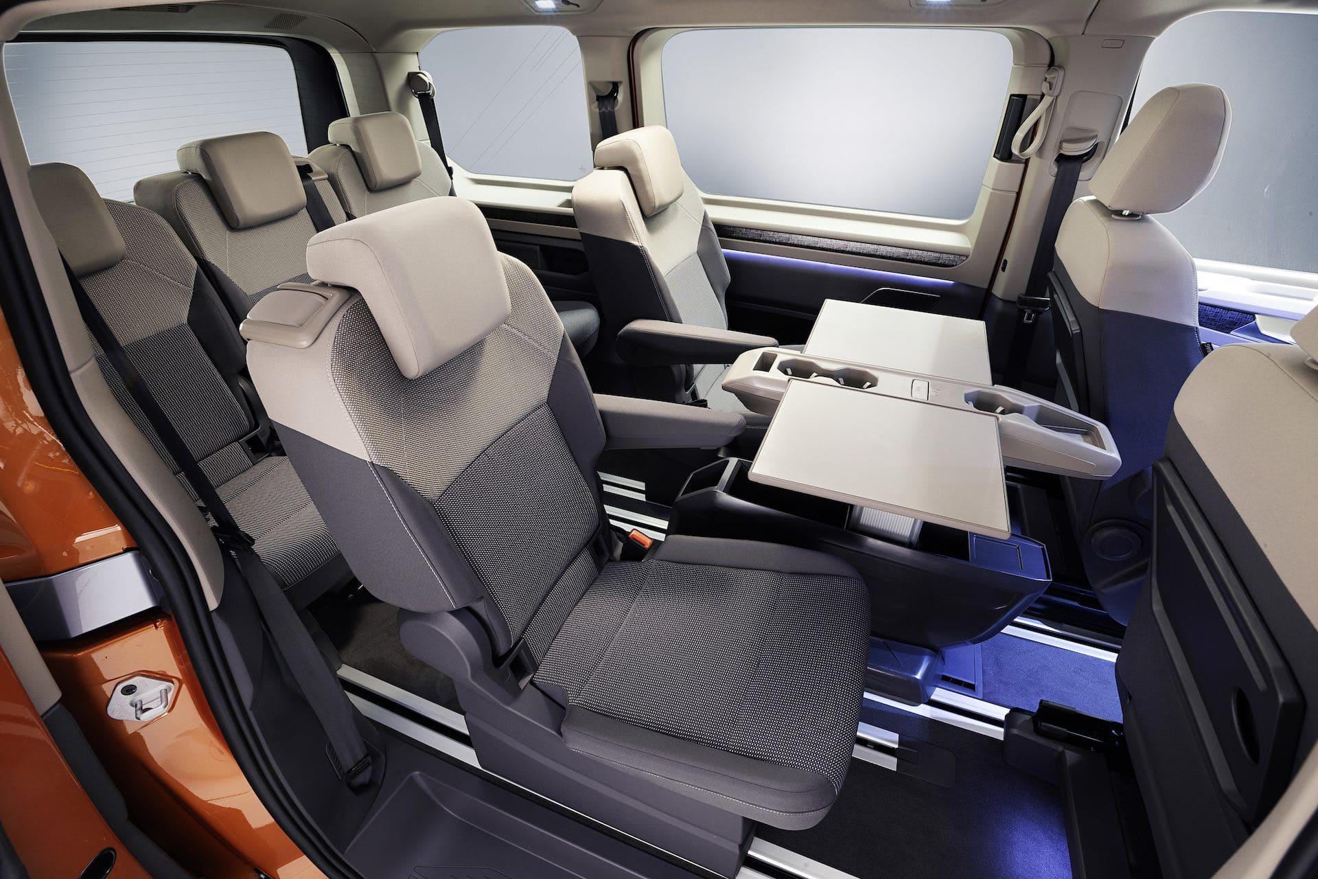 интерьер 2022 VW T7