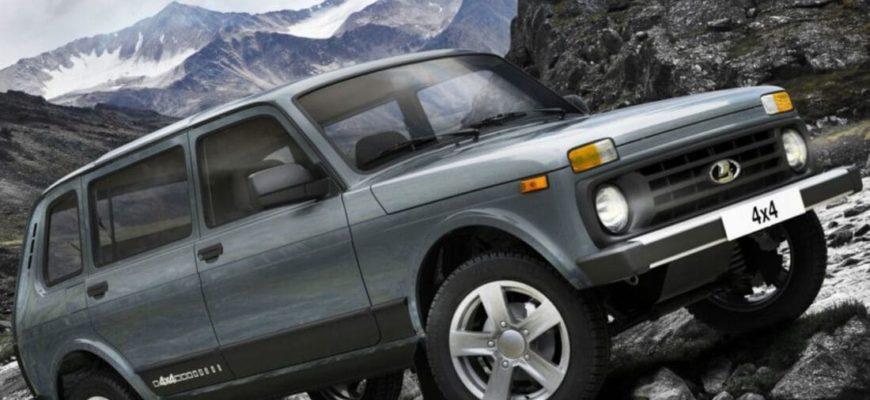 Lada Niva Legend - самый популярный кроссовер в России