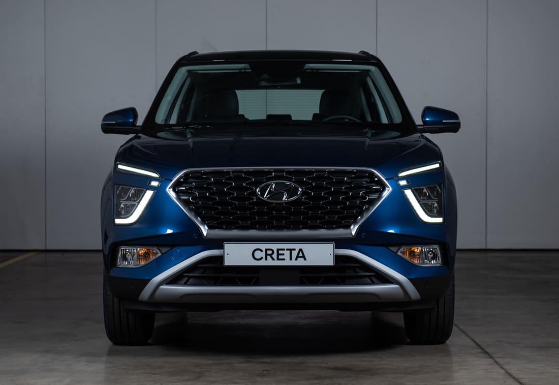 Новая Hyundai Creta 2022 фото