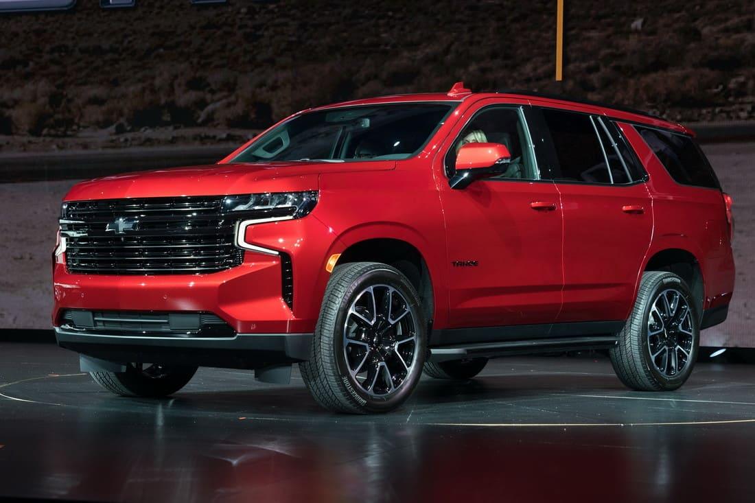 новый Chevrolet Tahoe 2021 - 2022 в России