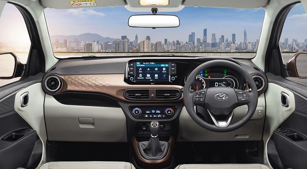 салон Hyundai Aura 2022 фото
