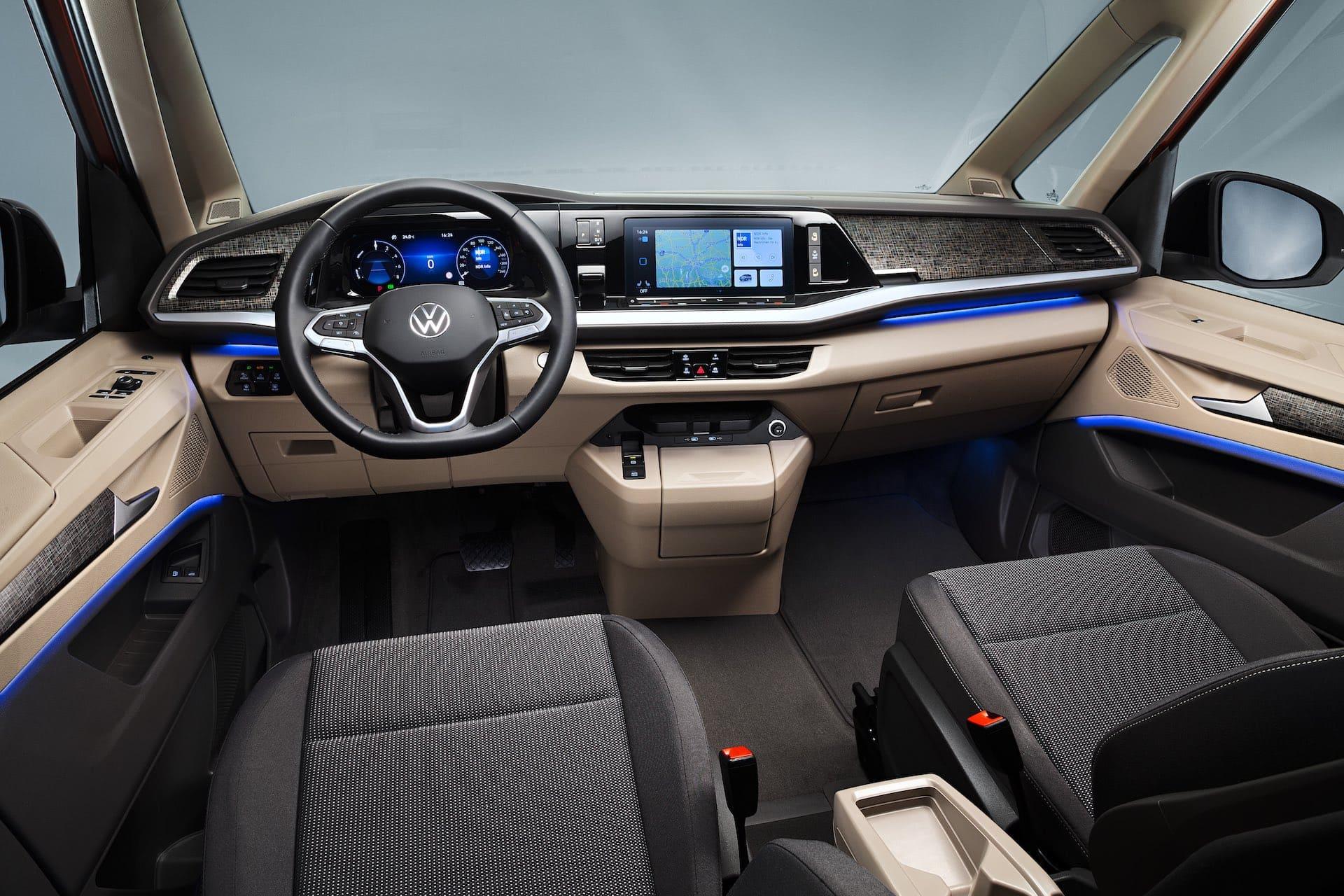 салон Volkswagen Multivan T7 2022