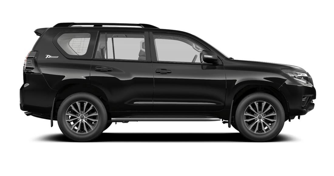 Toyota Land Cruiser Prado 150 70th Anniversary 2021 сбоку