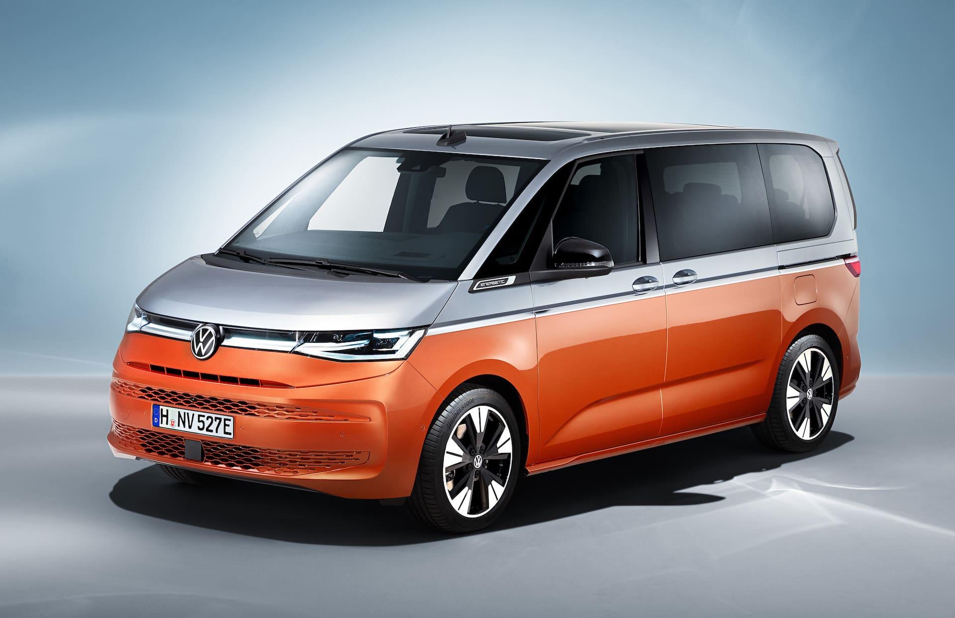 Volkswagen Multivan T7 2022 фото