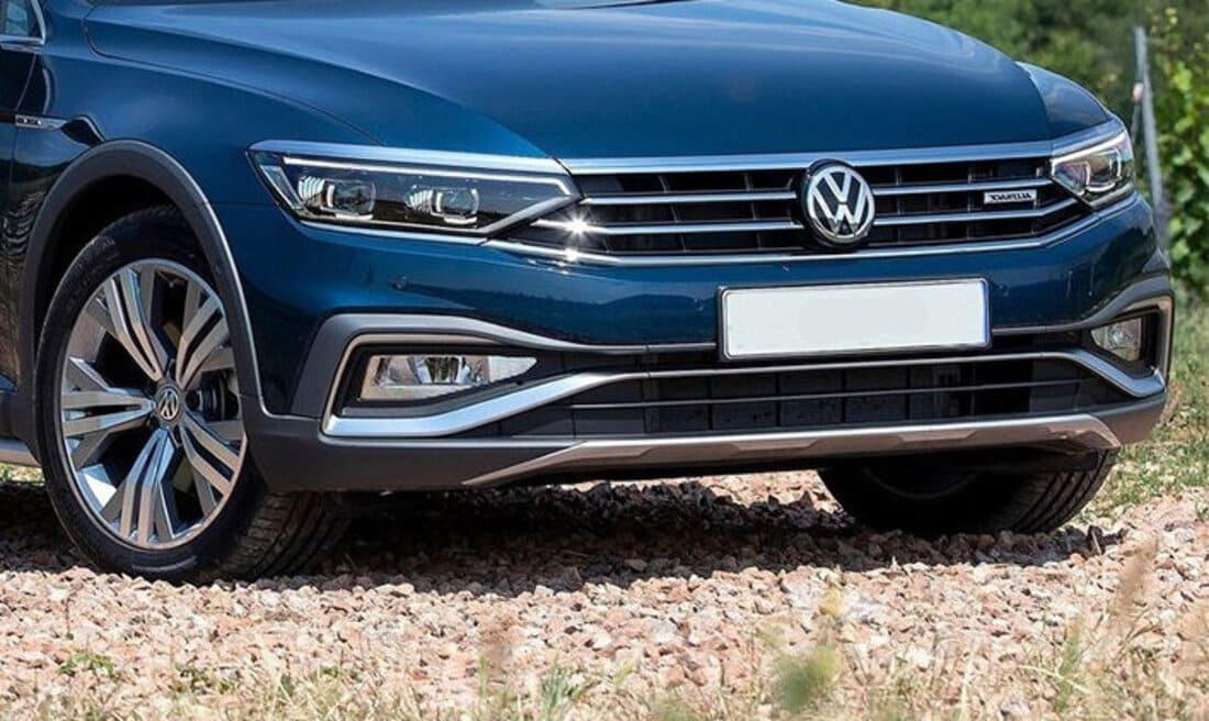 фары, бампер, решетка VW Passat Alltrack 2022