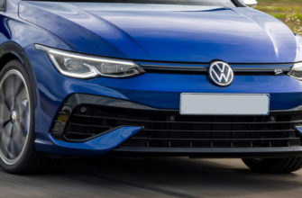 фары, бампер Volkswagen Golf R Variant 2022