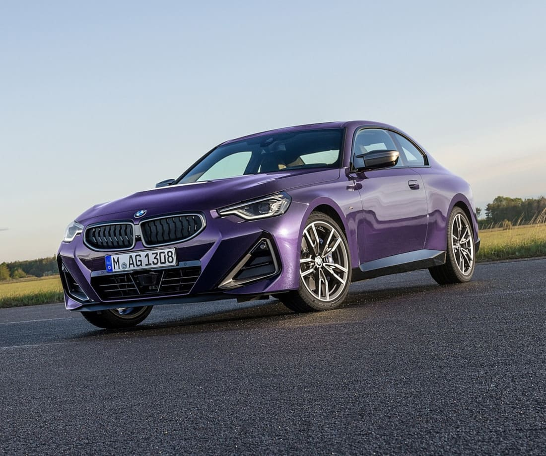 фото купе BMW 2 Series 2022