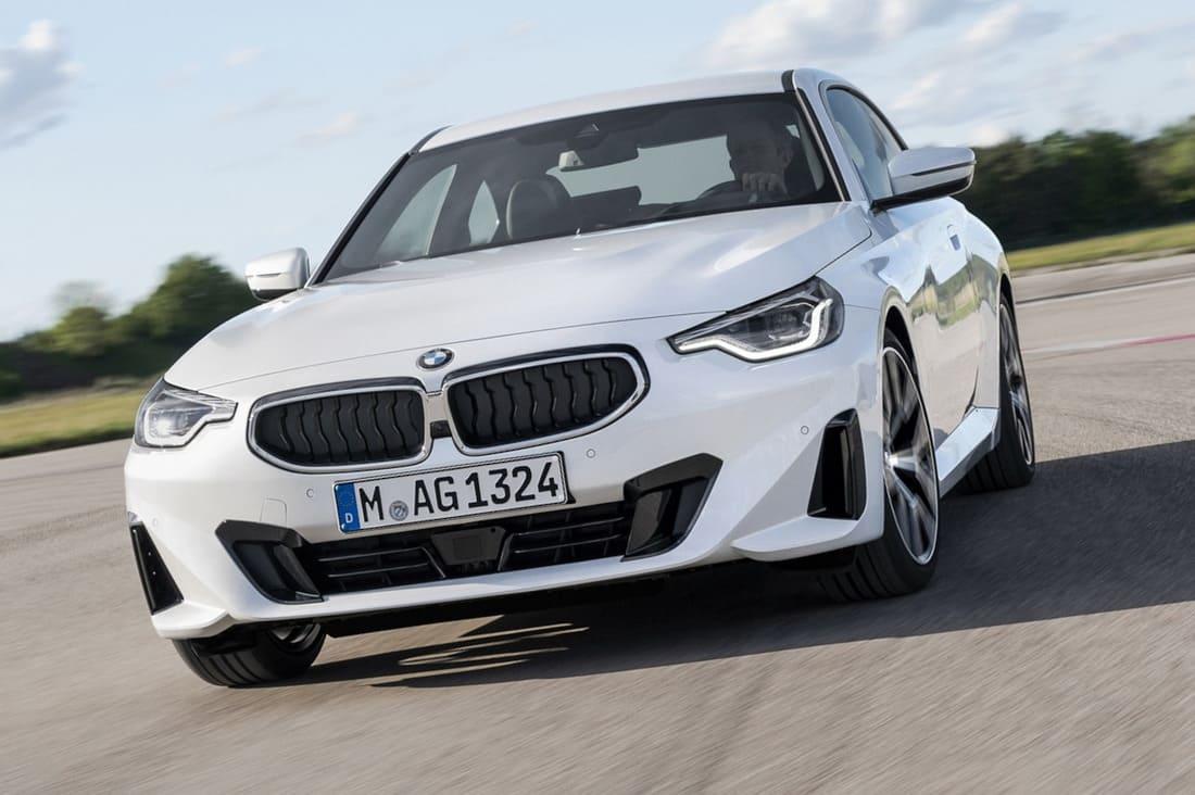 купе BMW 2 Series 2022 фары, решетка, бампер