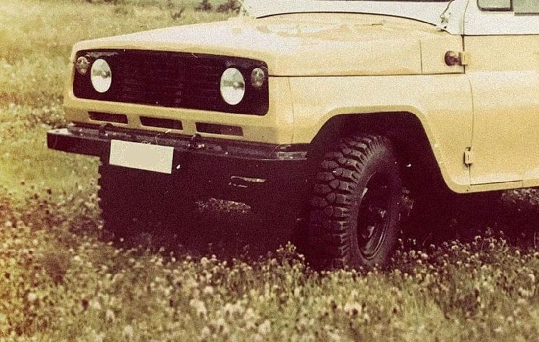Новый УАЗ 469 рестайлинг