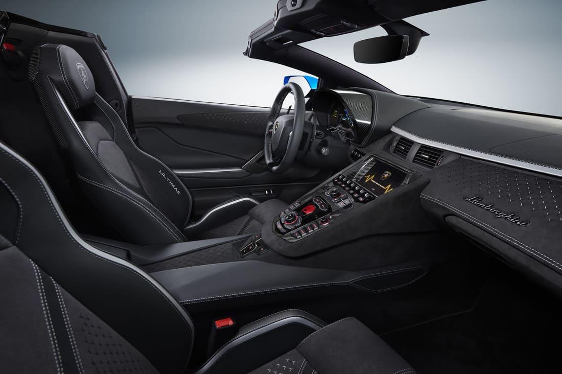 салон Lamborghini Aventador LP780-4 Ultimae в России