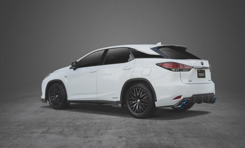Тюнинг Lexus RX 2021 от TOMS диффузор