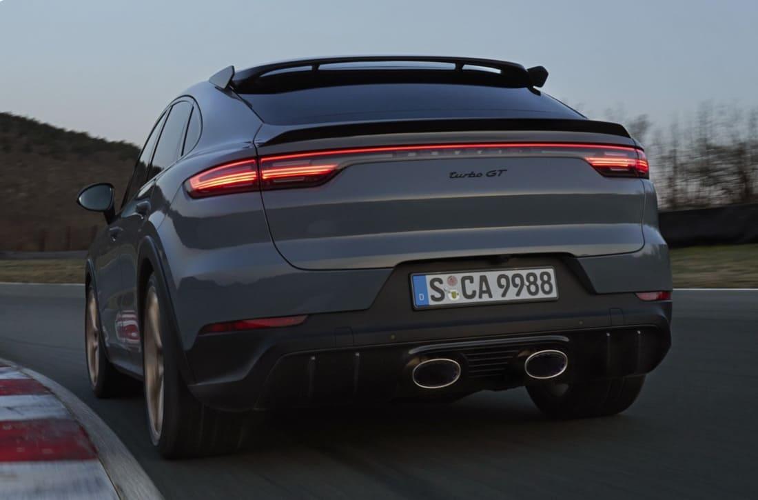 задние фонари Porsche Cayenne Turbo GT 2022