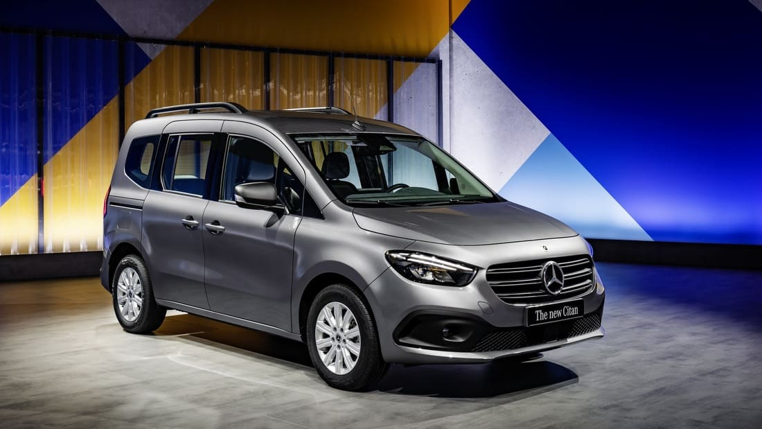 новый Mercedes Citan Van 2022