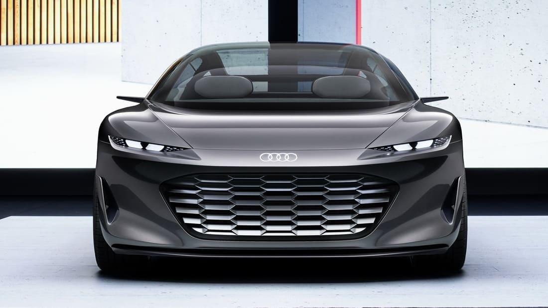 фары, решетка, бампер Audi Grandsphere