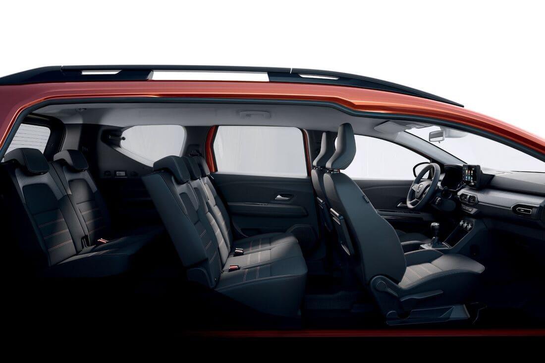 интерьер Dacia Jogger 2022