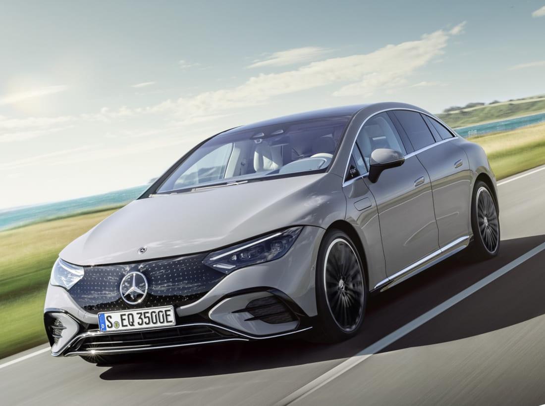 Mercedes-Benz EQE 2023 фото