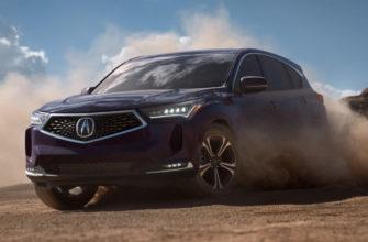 новая Acura RDX 2022