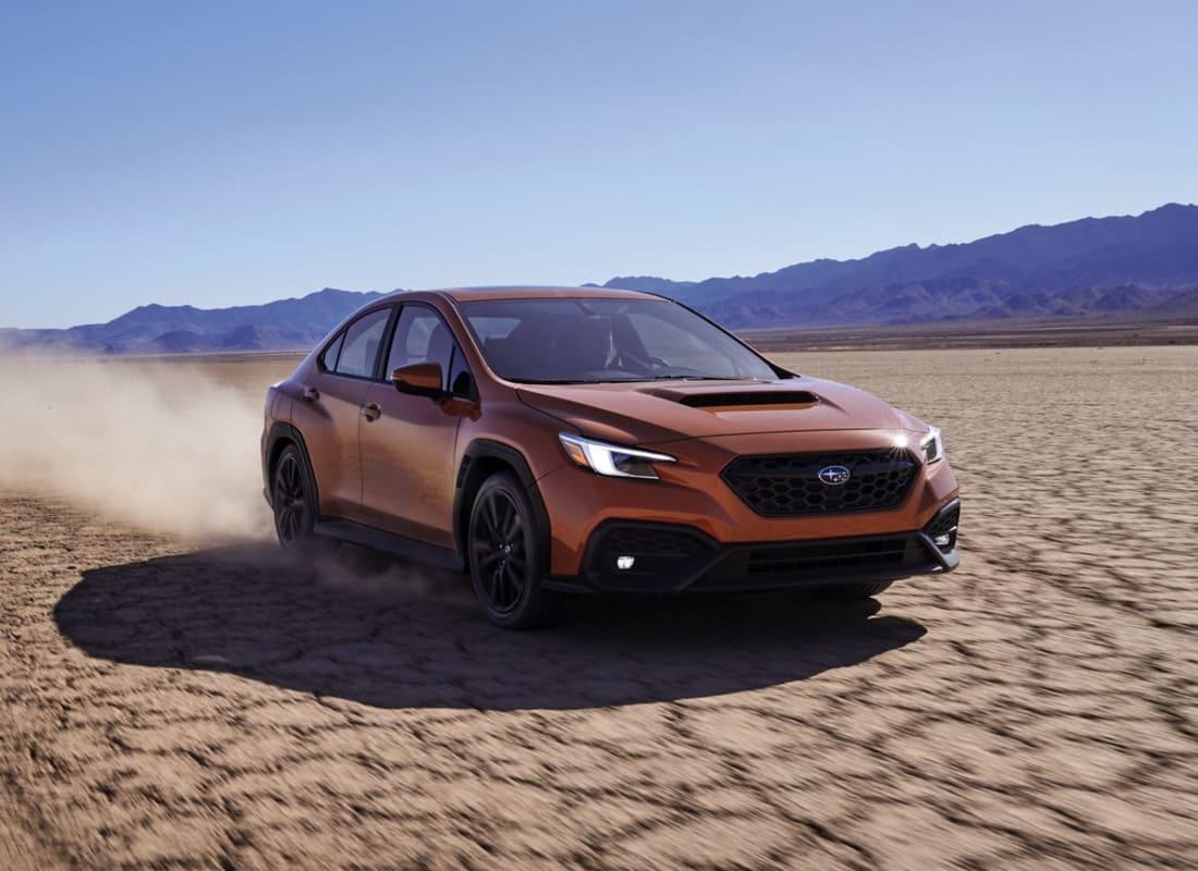 новый Subaru WRX 2022