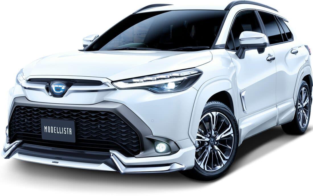 Тюнинг Toyota Corolla Cross 2022 от Modellista