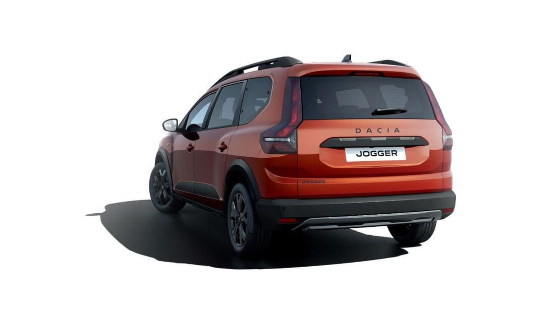 задняя часть Dacia Jogger 2022