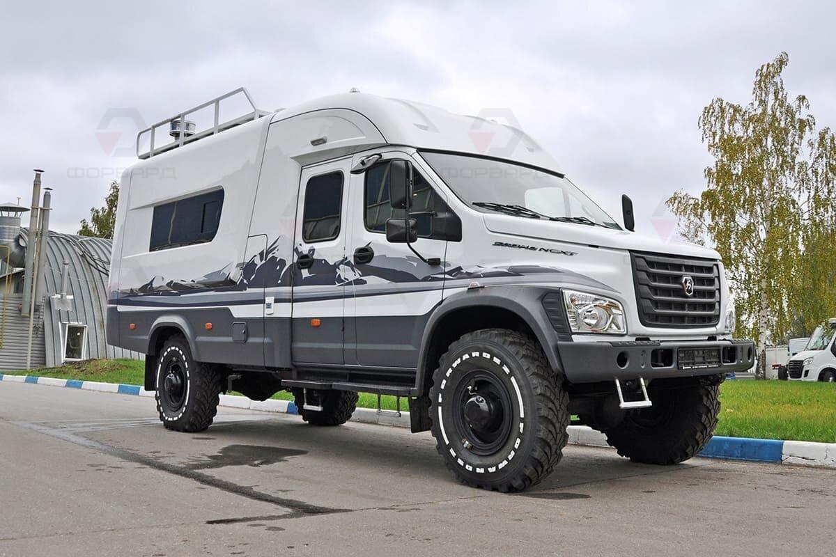 Автодом на базе ГАЗ Садко Некст 4х4. Цена 5,5 млн рублей. Фотографии