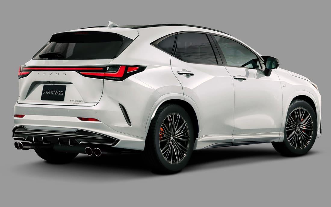 обвес Lexus NX 2022 от TRD