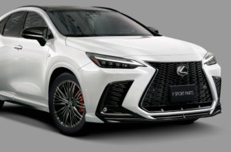 Тюнинг Lexus NX 2022 от TRD